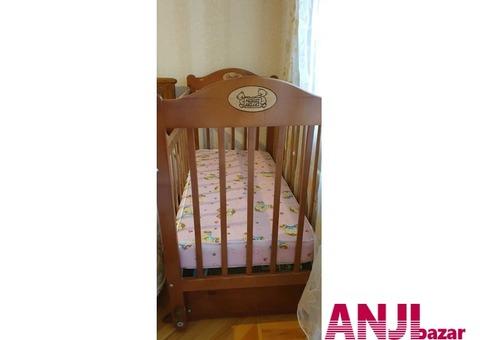 """Продаю детскую кроватку фирмы """"НАША МАМА"""""""