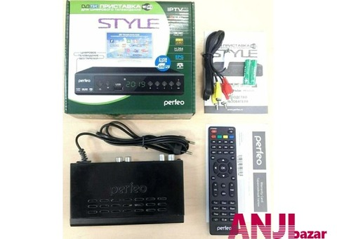 Ресивер DVB-T2 Perfeo с доставкой и установкой